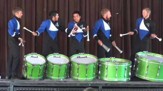 2012-BLUE-KNIGHTS-Bass-Ensemble-DCI-IE