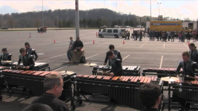 2014-Music-City-Mystique-Front-Ensemble-Finals-Warm-up-HD