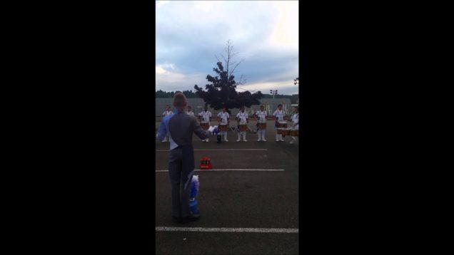 Blue-Knights-Drumline-Book-Segment-2014-Renton-Show