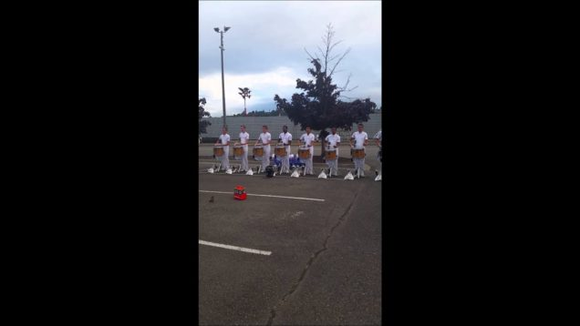 Blue-Knights-Drumline-Roll-Exercise-2014-Renton-Show