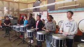 Garfield-High-School-Drumline-Rehearsal-Sanford-Double-Triple