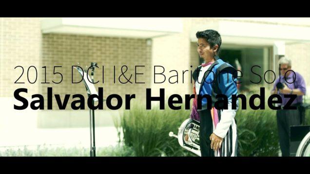 Salvador-Hernandez-DCI-IE-Baritone-Solo