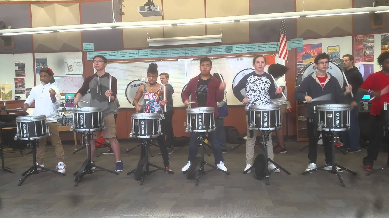 Garfield-High-School-Drumline-Stank-McNasty-February-Rehearsal