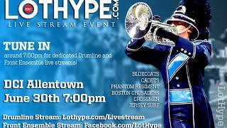 LotHype.com-DCI-2016-Allentown-Drumline-Stream