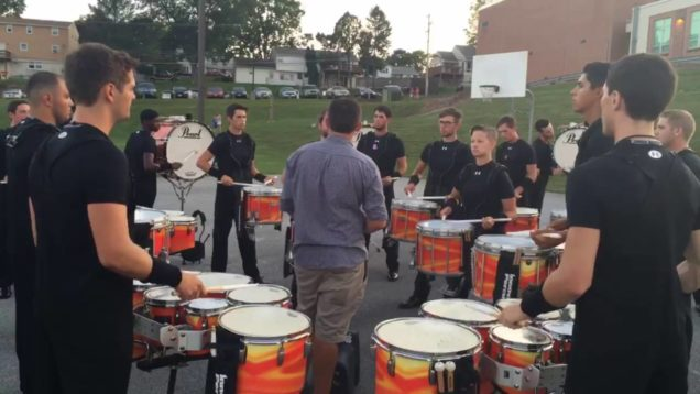 Reading-Buccaneers-8.27.2016-Full-Battery-Blob-Form-Warmup
