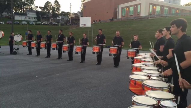 Reading-Buccaneers-8.27.2016-Full-Battery-Paradiddles
