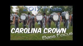 Carolina-Crown-Drumline-Finals-2017-Paradiddles-and-Rolls-Bass-Focus