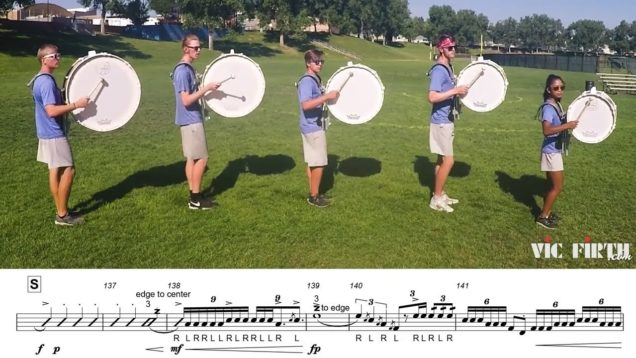 2018-Blue-Knights-Basses-LEARN-THE-MUSIC-to-Fall-and-Rise