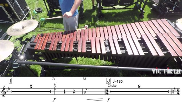2018-Blue-Knights-Marimba-LEARN-THE-MUSIC-to-Fall-and-Rise