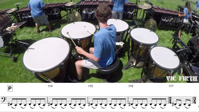 2018-Blue-Knights-Timpani-LEARN-THE-MUSIC-to-Fall-and-Rise