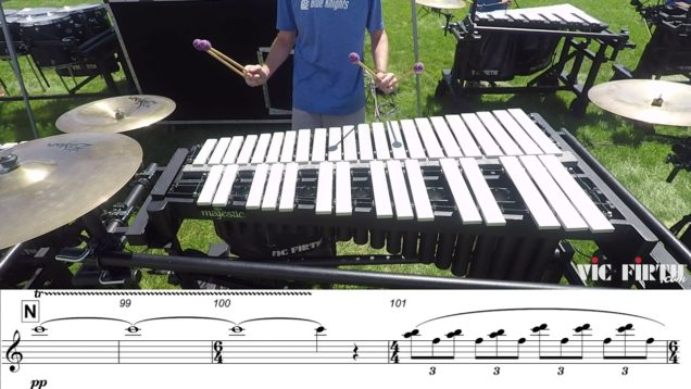 2018-Blue-Knights-Vibraphone-LEARN-THE-MUSIC-to-Fall-and-Rise