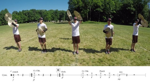 2018-Madison-Scouts-Cymbals-LEARN-THE-MUSIC-to-Racing-Heart