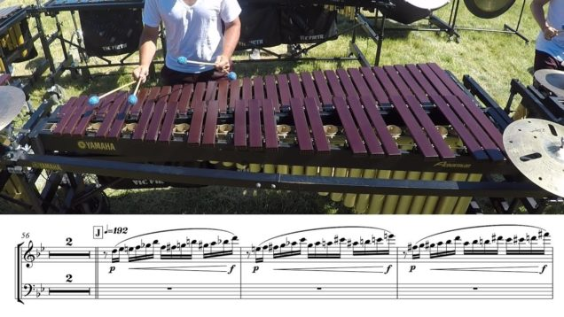 2018-Madison-Scouts-Marimba-LEARN-THE-MUSIC-to-Racing-Heart