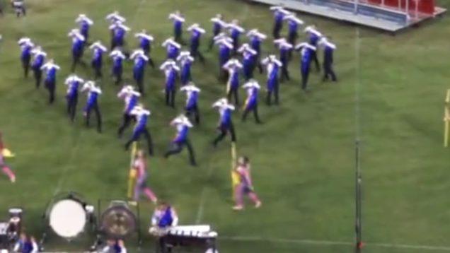 Blue-Devils-Hornline-Member-Takes-Nasty-Fall-Jumps-Right-Back-In