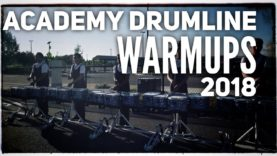 Academy-Drumline-2018-Warmups-Lot