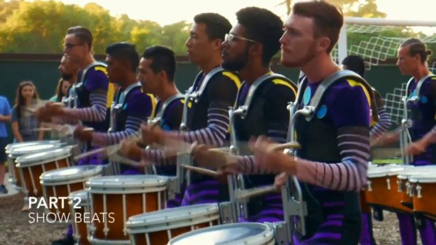 Blue-Knights-Drumline-IN-THE-LOT