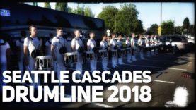 Seattle-Cascades-Drumline-2018-in-the-Lot-July-Renton-Show