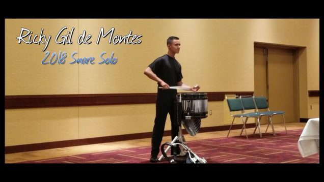 Ricky-Gil-de-Montes-Snare-Solo-IE-2018-5th-Place