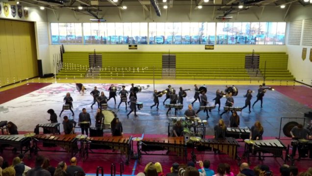 2019-Belleville-East-High-School-Drumline-CSPA-Show-3162019