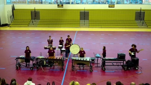 2019-Belleville-West-High-School-Drumline-CSPA-Show-3162019