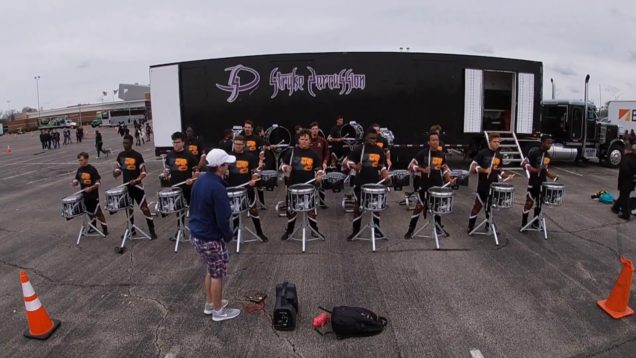 Stryke-Percussion-2019-Battery-Warm-Ups-412-WGI-Semis