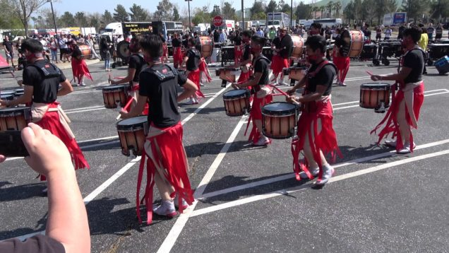 Ayala-HS-Winter-Drumline-2019