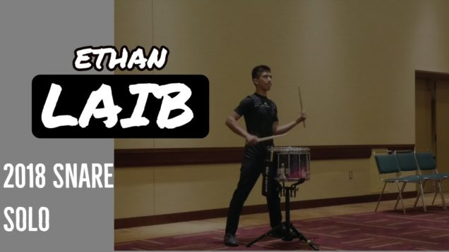 Ethan-Laib-Snare-Solo-IE-2018-12th-Place
