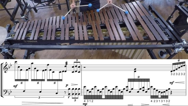 2019-Carolina-Crown-Marimba-LEARN-THE-MUSIC-to-Gabriels-Oboe
