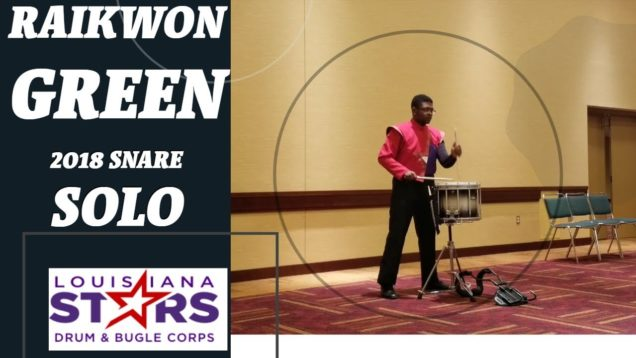 RaiKwon-Green-Snare-Solo-IE-2018-15th-Place