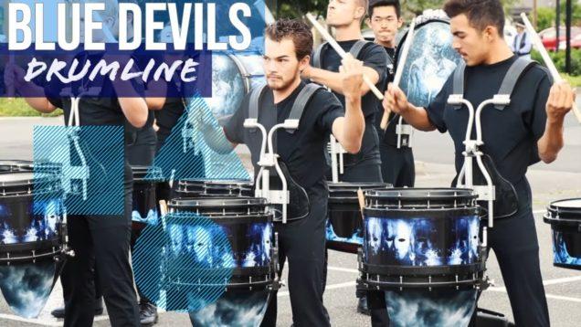 Blue-Devils-Drumline-2019-Snare-Focus