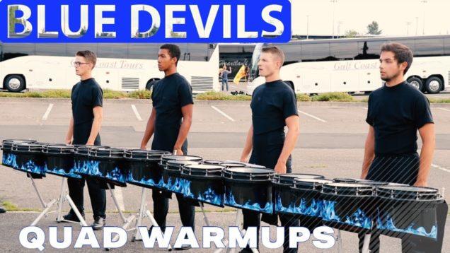 DCI-2019-Blue-Devils-Quad-Line-Warmups
