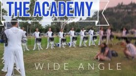 The-Academy-Drumline-2019-Wide-Angle-Warmups