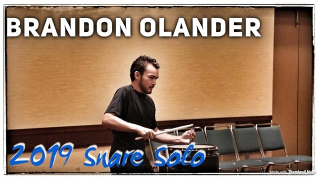 Brandon-Olander-1st-place-2019-Snare-Solo-HQ-Audio