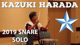 Kazuki-Harada-4th-Place-2019-Snare-Solo-HQ-Audio