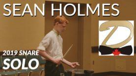 Sean-Holmes-12th-Place-2019-Snare-Solo-HQ-Audio