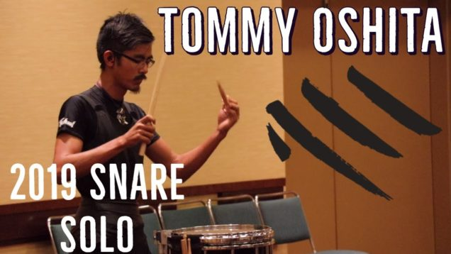 Tommy-Oshita-7th-Place-2019-Snare-Solo-HQ-Audio