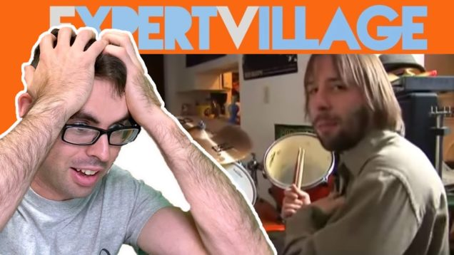 Expert-Drummer-REACTS-and-FIXES-ExpertVillage-Drum-Lessons