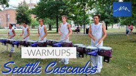Seattle-Cascades-2019-Drumline-Finals-Week-Warmup