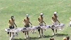 1994-Blue-Devils-Drumline-rehearsal