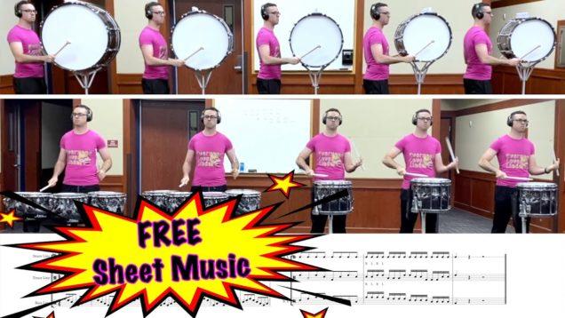EMC-Drumline-Warm-Up-Exercises-FREE-SHEET-MUSIC