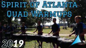HQ-Audio-Spirit-of-Atlanta-Drumline-2019-Quads-Warmup