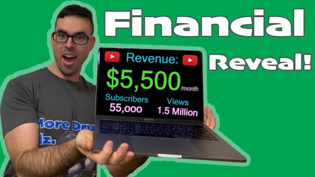How-Much-Does-YouTube-Pay-Me-55k-subscriber-Financial-Reveal-special