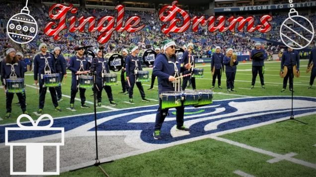 Jingle-Bells-Drums-Seahawks-Drumline