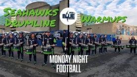 Seahawks-Drumline-Blue-Thunder-2019-MNF-Warmups