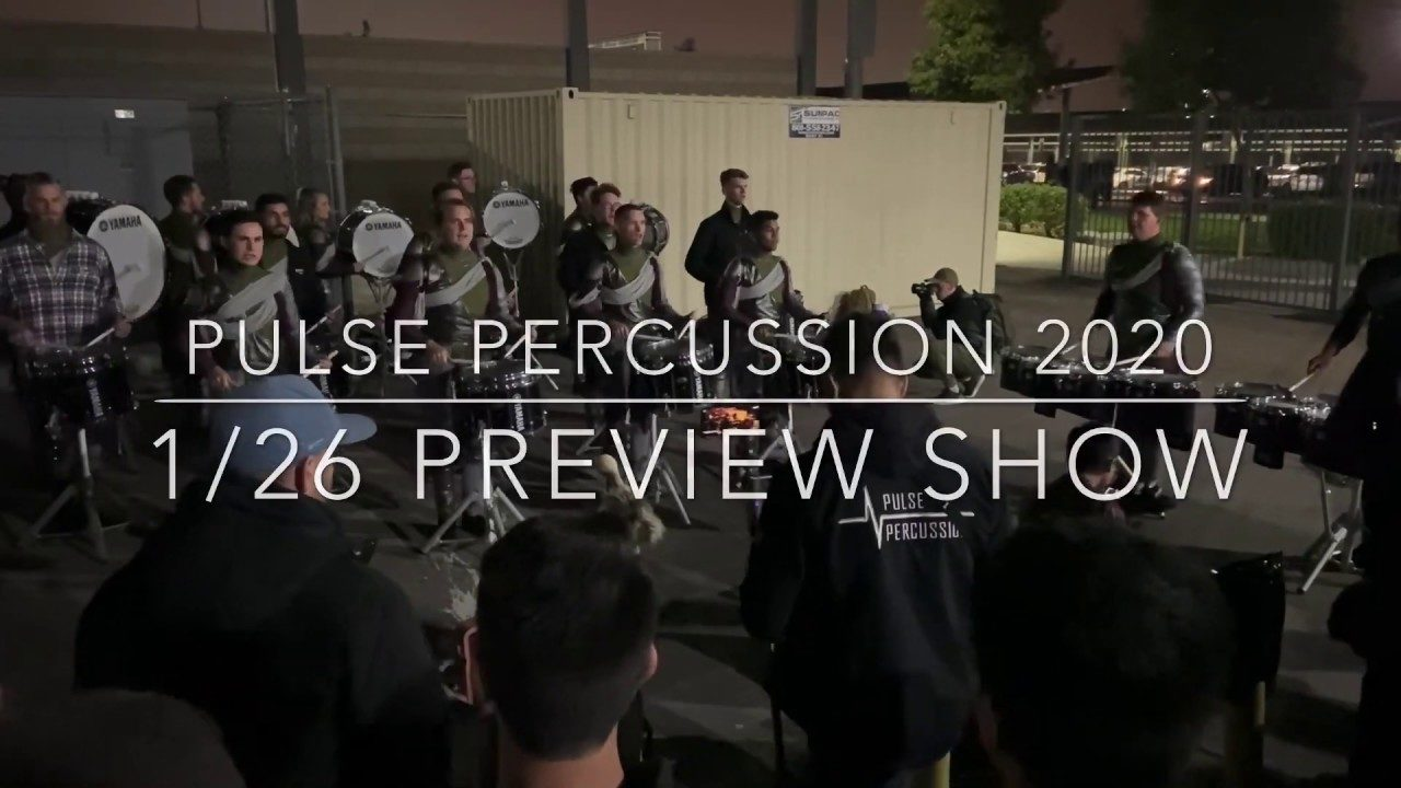 Pulse-Percussion-2020-Warm-UPS-126-Preview-Show