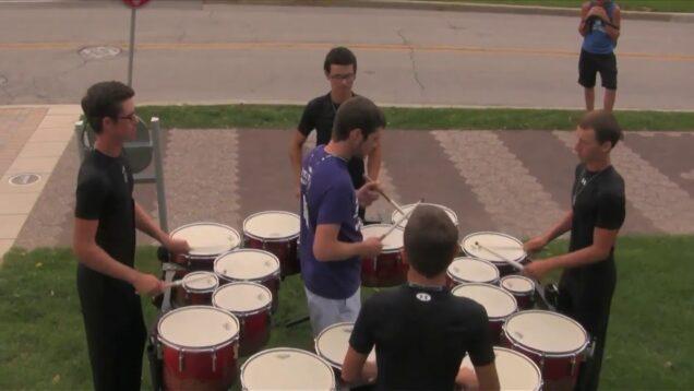 2014-Santa-Clara-Vanguard-Drumline-Quads-DCI-Finals