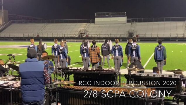 RCC-Indoor-Percussion-2020-Full-Ensemble-Run-28-SCPA-Colony