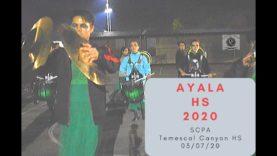 Ayala-HS-Drumline-2020-Show-Music-1
