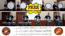 USMC-Drum-Cadences-Learn-the-Beats-Episode-14-DigitalDrumlineProject