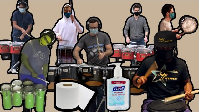 A-Drum-Cypher-to-End-World-Sickness